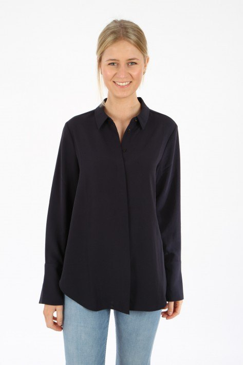 Closed Bluse Lani - navy