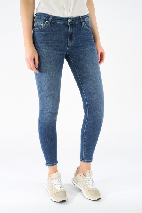 AG Jeans The Legging Ankle - midblue 18Y