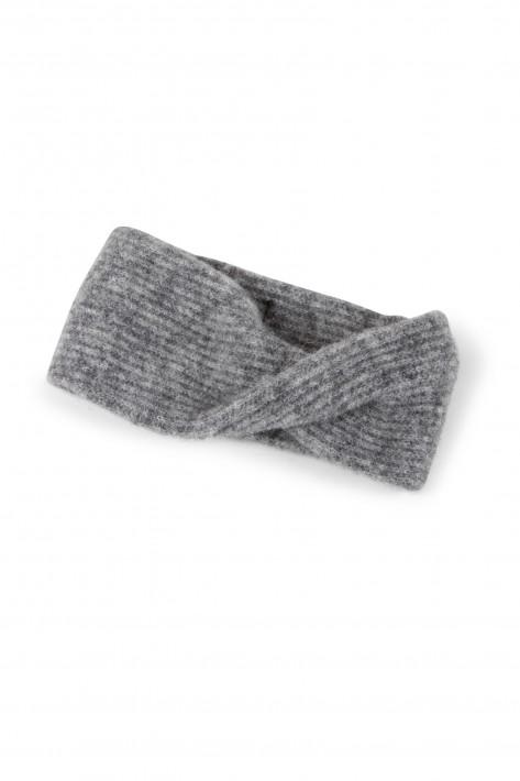Drykorn Stirnband Bitta - grey mel