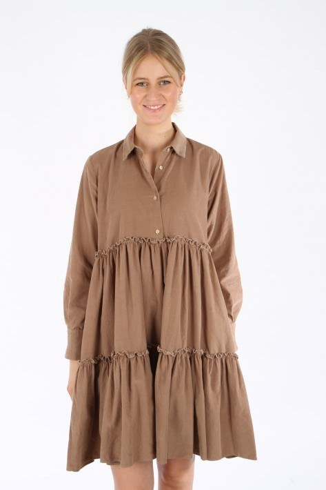 Aglini Kleid Hope New - camel