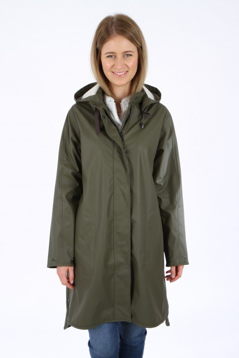 Ilse Jacobsen Raincoat - army
