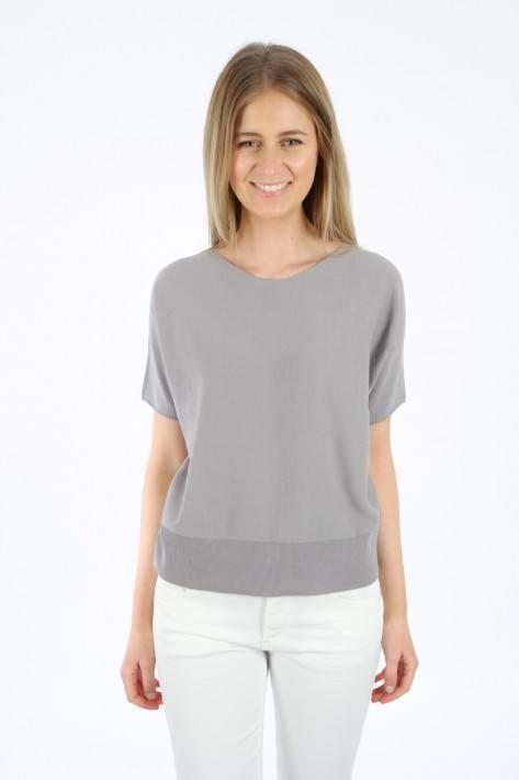 Driykorn Strickshirt SOMELI- grey