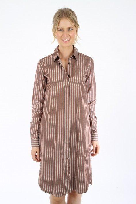 0039 Italy Kleid Gracia New - braun