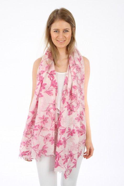 Hemisphere Cashmere Schal Delia - pink