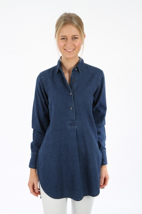 Closed Longbluse Polly - denim