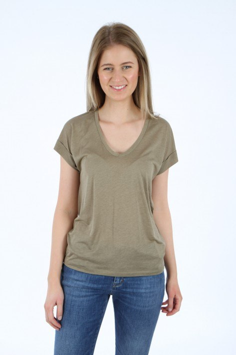 Closed Shirt - green umber