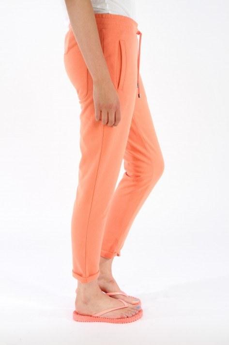 Juvia Sweat-Pants turn up - papaya