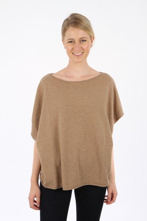 Re_branded Knit Vest Z1WA01 - desert