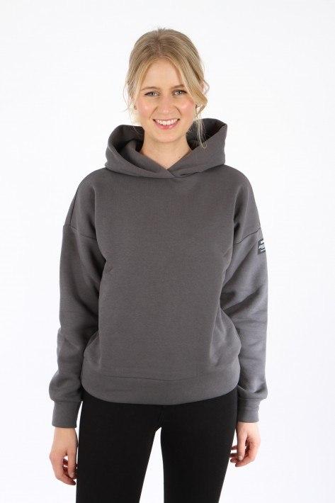 Ecoalf Cudilleralf Women Sweatshirt - asphalt