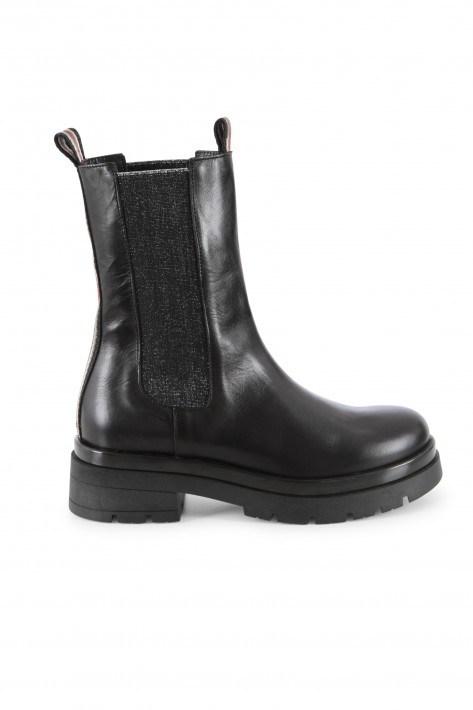 Meline Chelsea Boots - schwarz