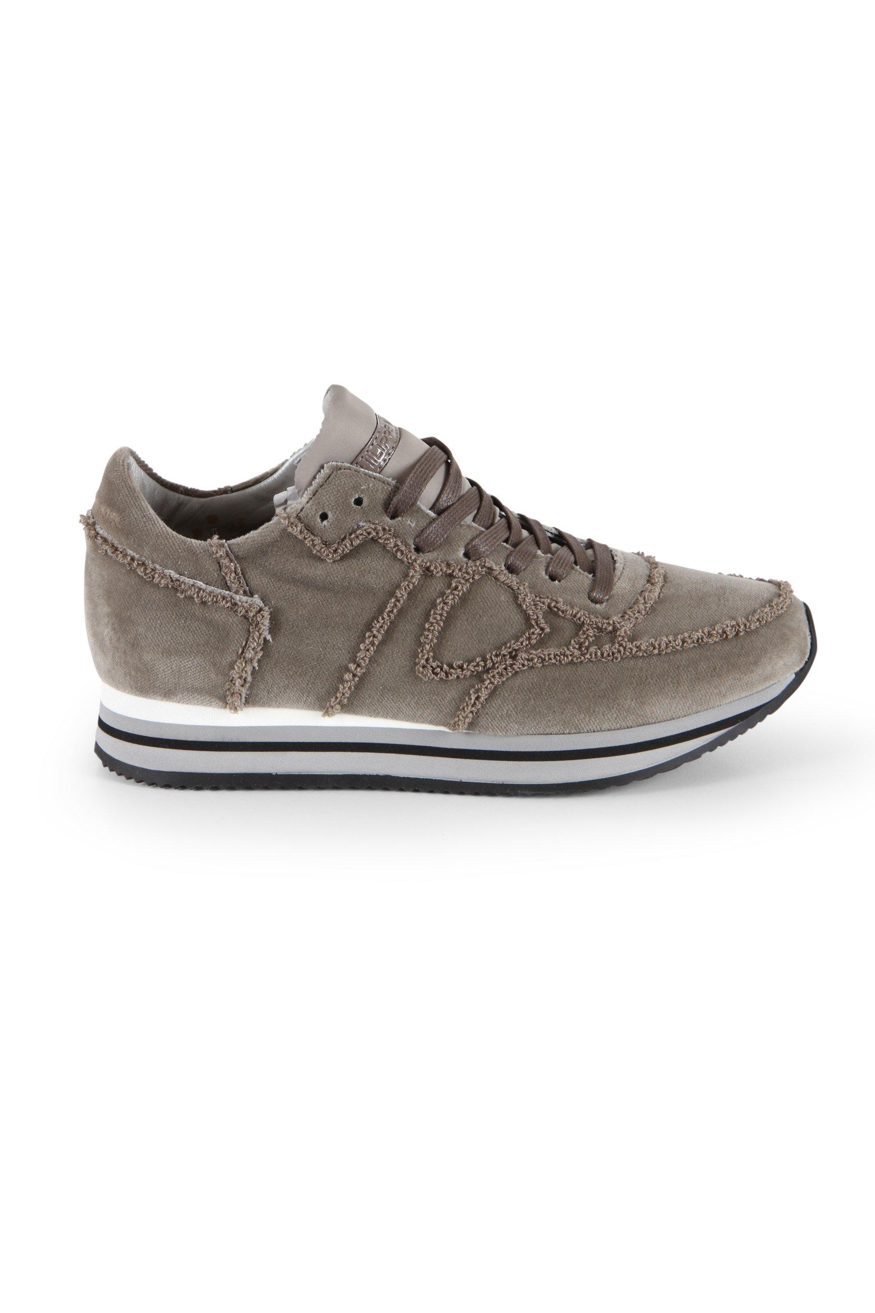 Philippe Model Sneaker Tropez Higher L D - velour mud versandkostenfrei  bestellen!   kleiderschrank 0670f7463a