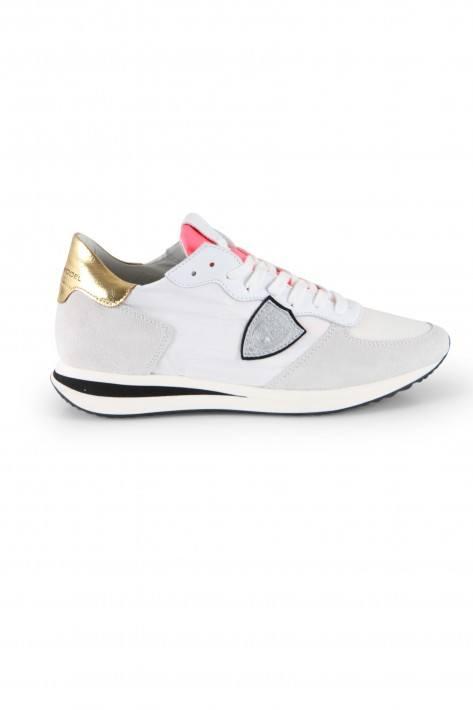 Philippe Model Sneaker TRPX Low Mondial Neon X-Blanc