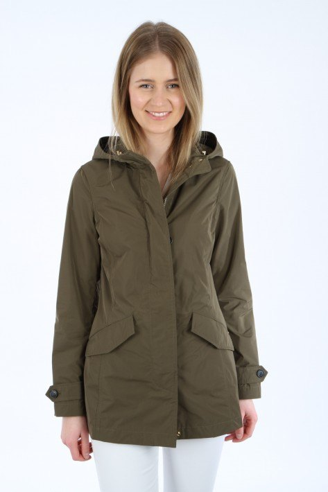 Woolrich Summer Parka - army olive