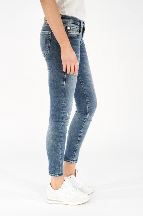 True Religion Jeans Halle - Lacey Deep Blue