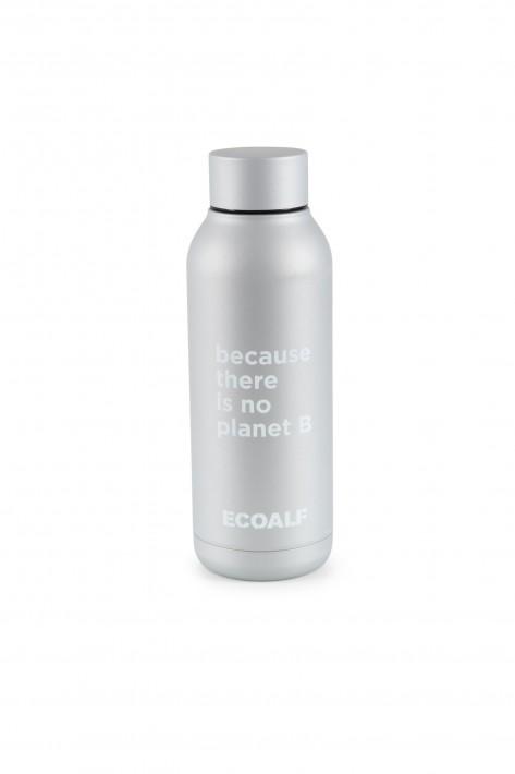 Ecoalf Edelstahlflasche Bronson - silver grey