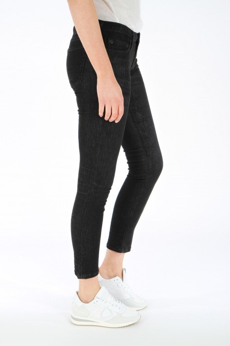 True Relgion Jeans Cora straight - black denim
