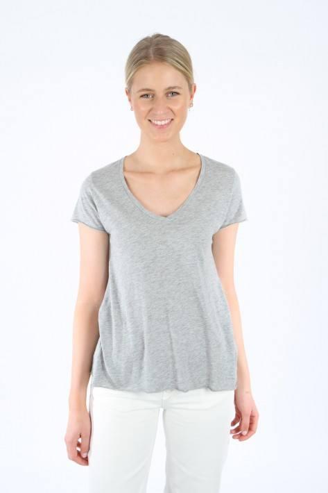 American Vintage T-Shirt JAC51 - heather grey