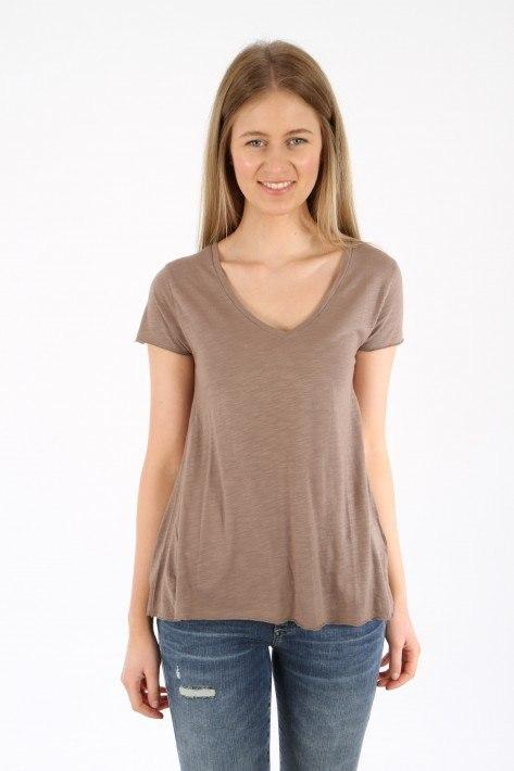 American Vintage T-Shirt JAC51V - vintage brown
