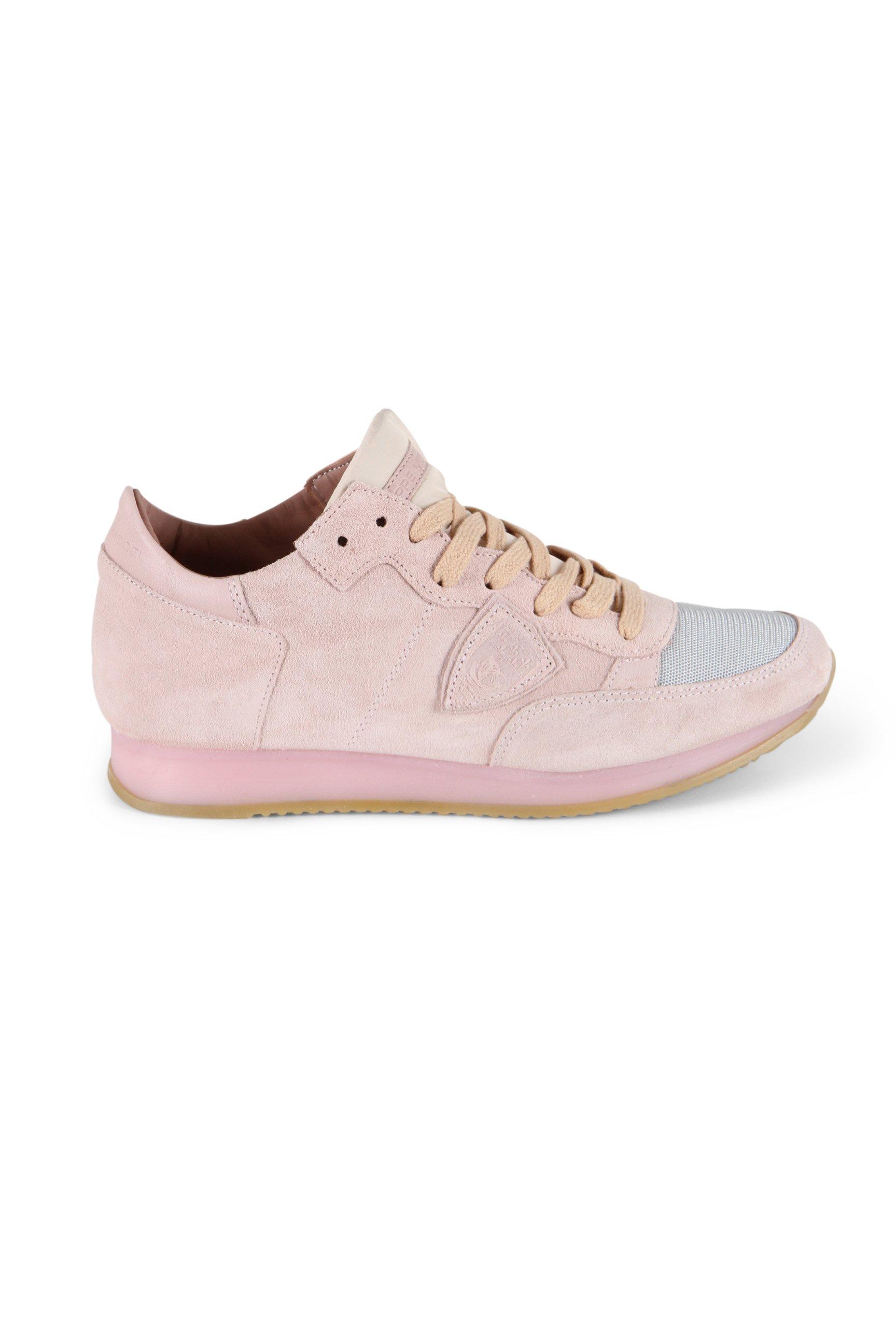 Philippe Model Sneaker Tropez L D - suede rose versandkostenfrei bestellen!    kleiderschrank 2b5759617f