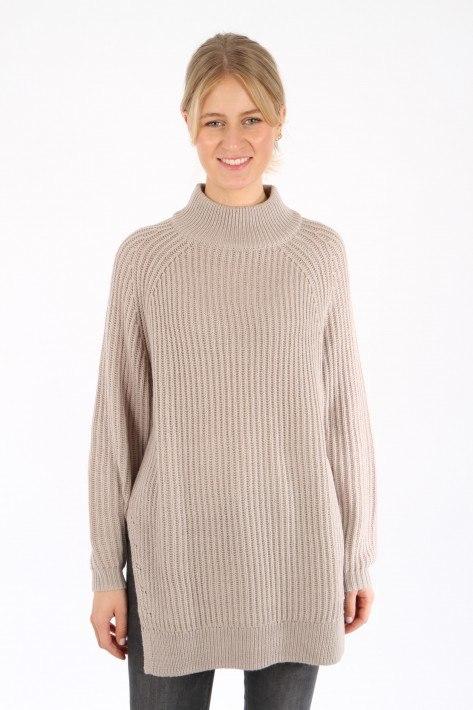 Bloom Long-Pullover - chalk