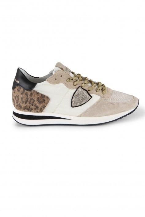 Philippe Model Sneaker Mondial - animalier/blanc