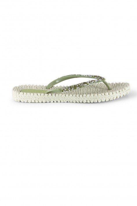 Ilse Jacobsen Flip Flop Cheerful03G - moss