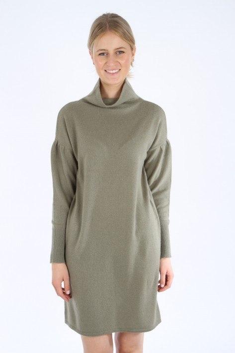 Hemisphere Cashmere-Kleid - soft green