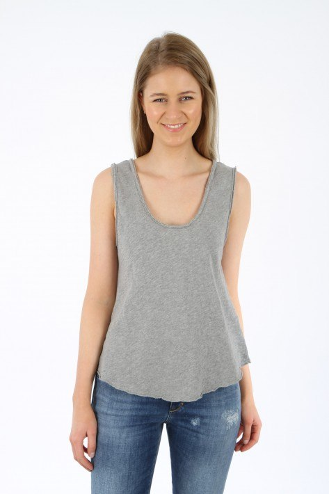 American Vintage Top Sonoma - heather grey