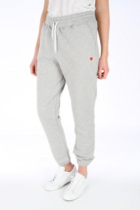 Brosbi Sweat Pants Icon Heart - light grey