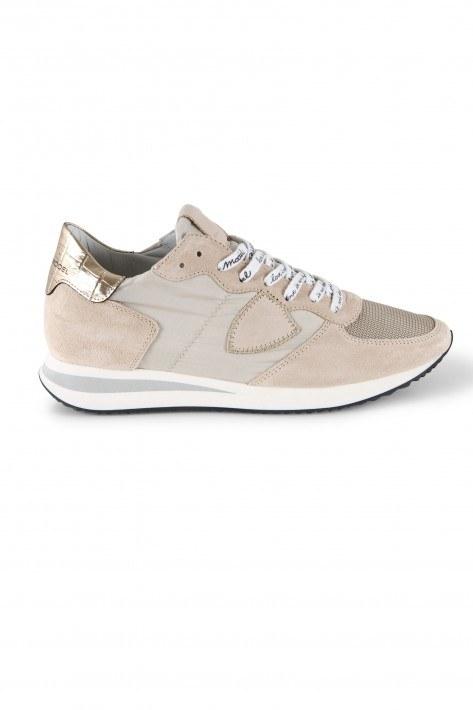 Philippe Model Sneaker Mondial TRPX Low - croco beige