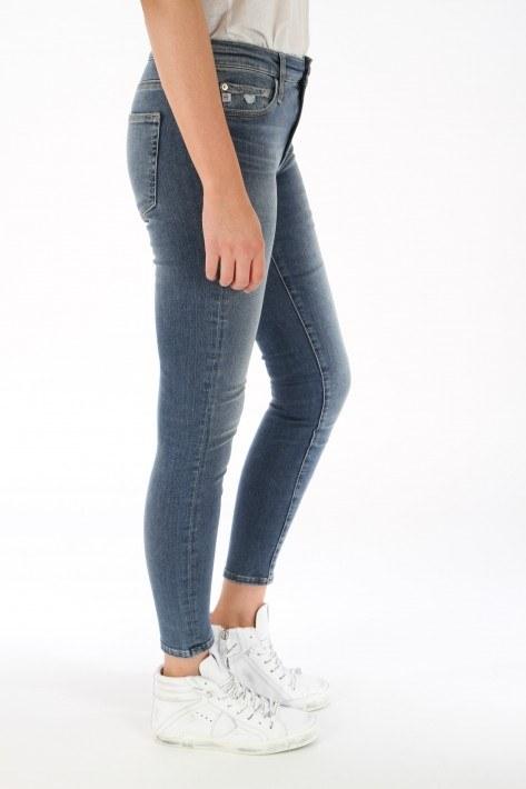 AG Jeans Farrah Skinny Ankle - mid blue