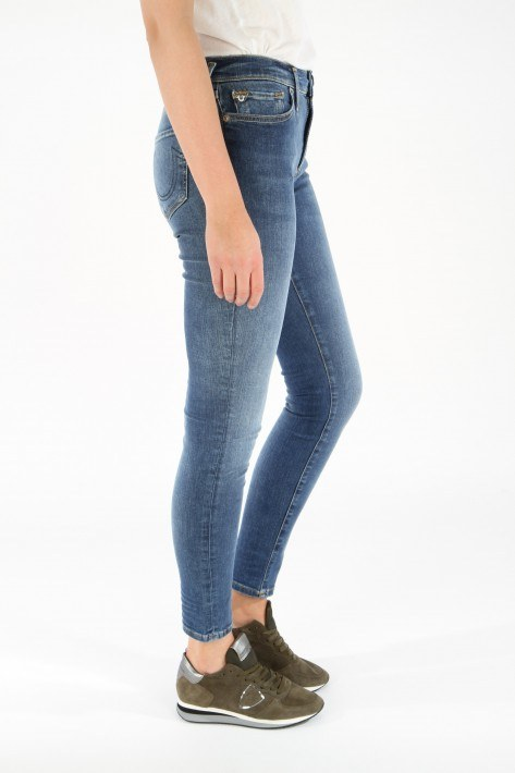 True Religion Jeans Highrise Halle - denim blue