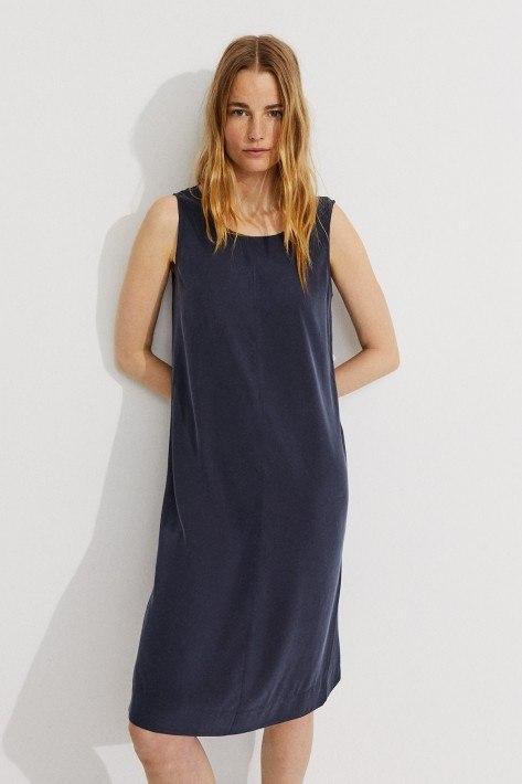 Ecoalf Dress Gregaalf - dark blue