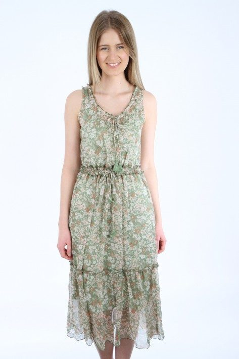 Ilse Jacobsen Kleid - green lily