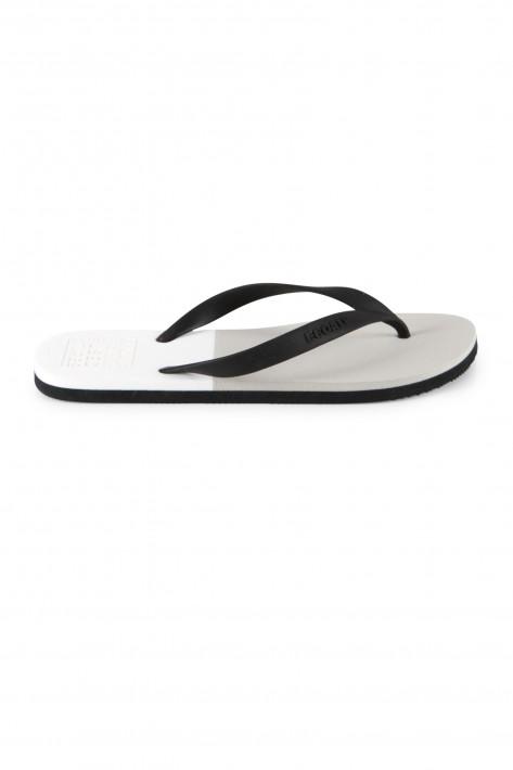 Ecoalf Flip Flops Bicolor - light grey/black