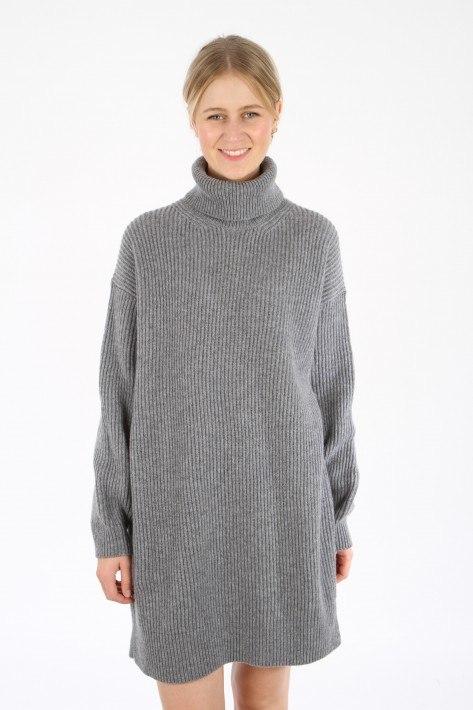 Drykorn Strickkleid JARDANY - grey