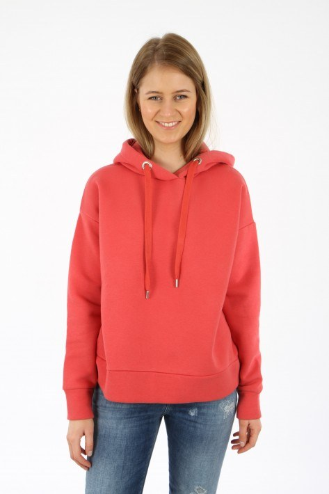 Closed Logo-Hoodie - amaranth red