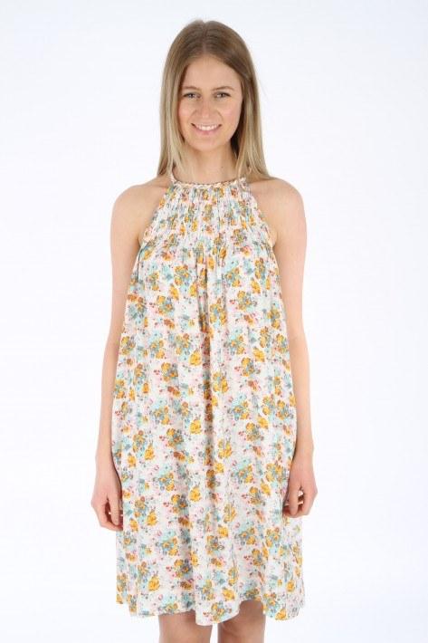 True Religion Neckholder Dress - flower