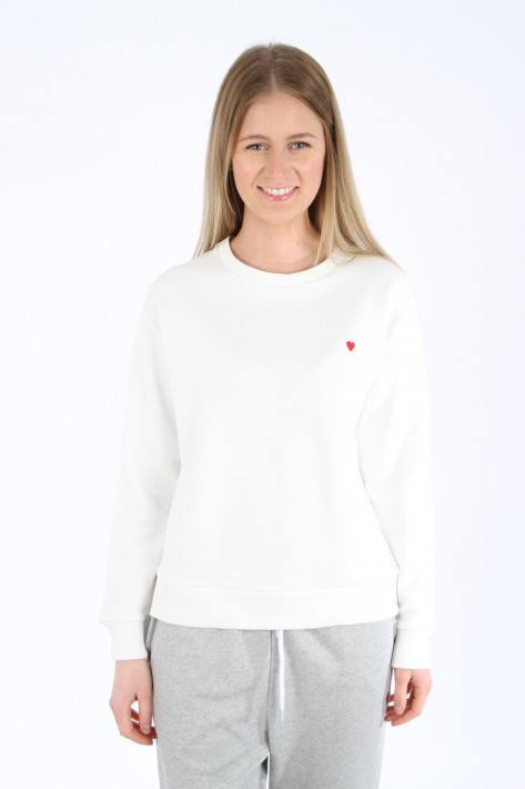 Brosbi The Icon Sweat Heart - offwhite