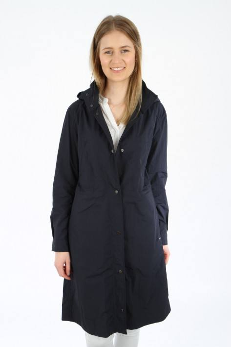 Woolrich Tickseed Coat - melton blue