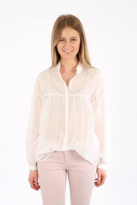 0039 Italy Bluse Vicenza - offwhite