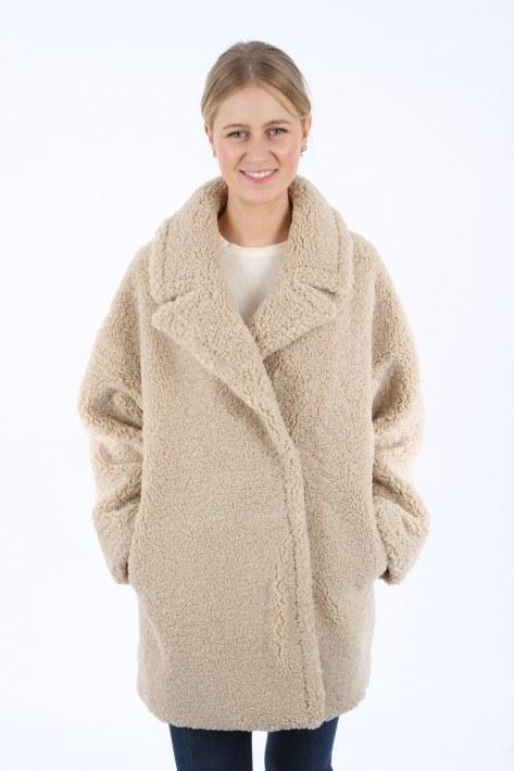 Betta Corradi Giacca Overs Doppiop - lana/wool
