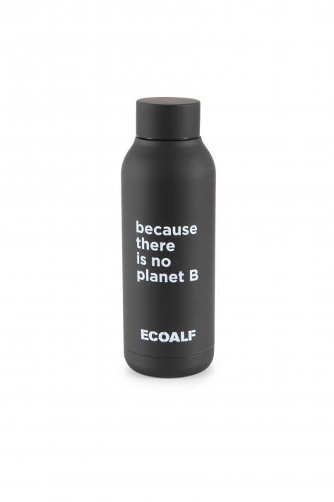 Ecoalf Edelstahlflasche Bronson - black