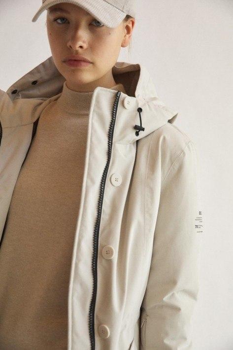 Ecoalf Mulhavenalf Women Jacket - ash