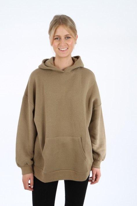 American Vintage Sweatshirt IKATOWN - petunia