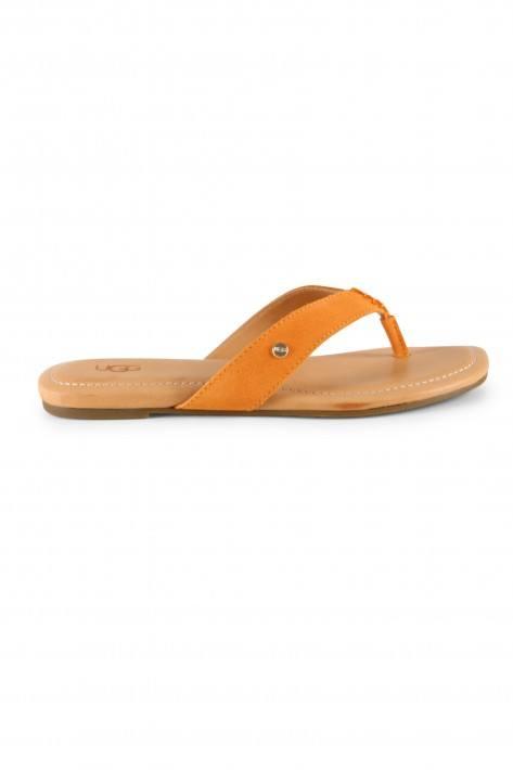 UGG Australia Flip Flop Tuolumne Poppy Suede - orange
