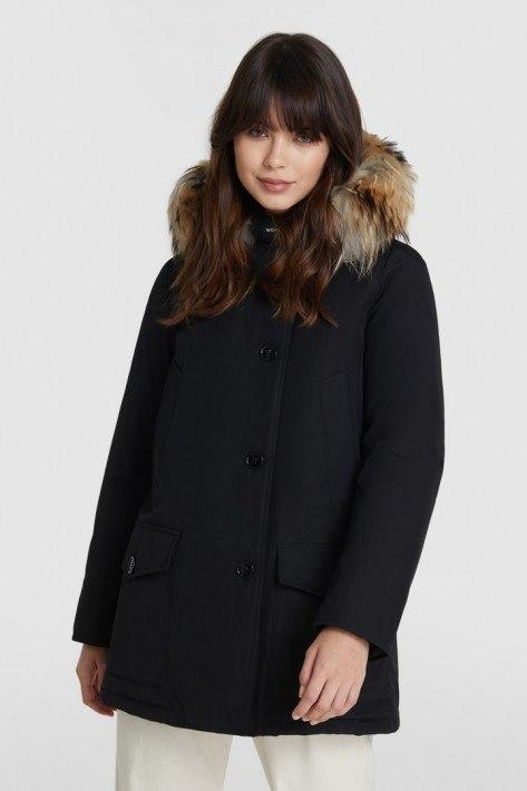 Woolrich Arctic Detachable Fur Parka - schwarz