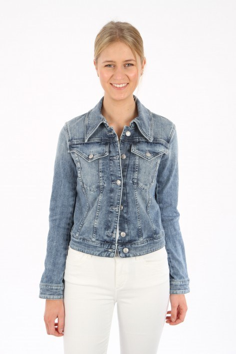 Drykorn Jeansjacke Somerton - washed blue
