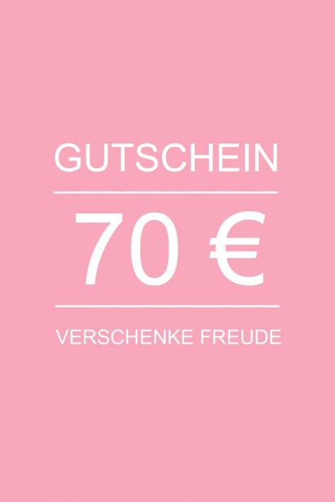 Gutschein 70 EURO
