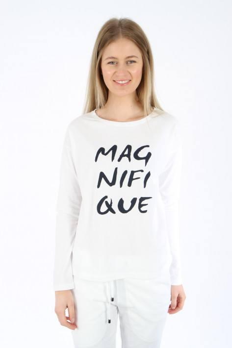 Juvia Washed Longsleeve 'Magnifique' - white